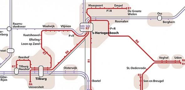 Plan voor 80 nieuwe lightraillijnen in 2040