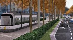 Straatvechten voor lightrailprojecten