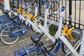 Nieuwe proef met OV-fietsen op straat