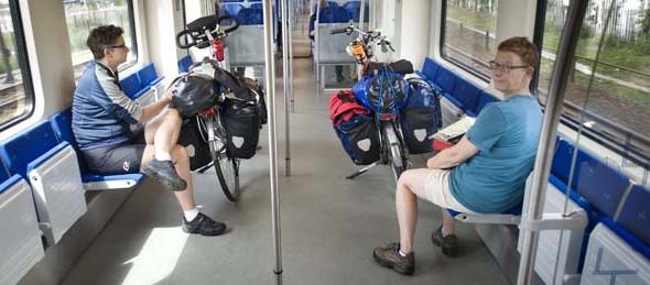 Kamerleden: fiets gratis mee in de stoptrein