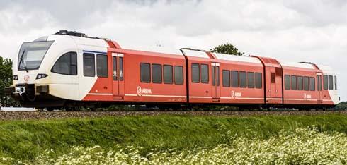 Sneltrein tussen Groningen en Winschoten
