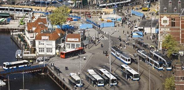 Stadsvervoer minder vaak gebruikt