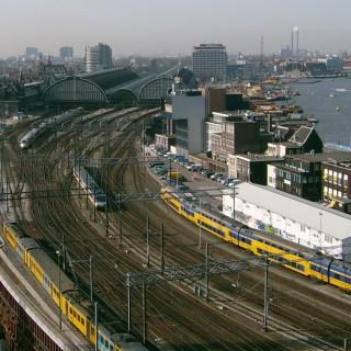 Meer treinruimte op A'dam CS in 2030