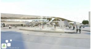 Kortrijk stelt nieuw station en -omgeving voor