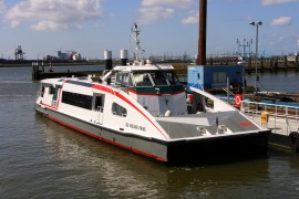 Fast Ferry RET trekt record aantal reizigers