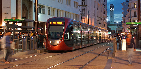 Casablanca ziet plots af van metro en kiest voor tram