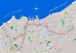 Tramlijn 1 Casablanca