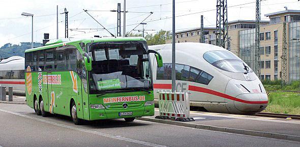 Duitse intercitybusmarkt stijgt licht