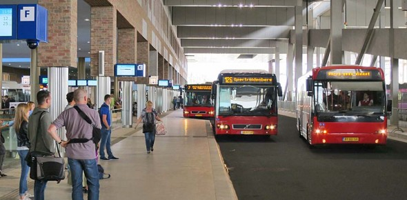 Busstation Breda is de blikvanger
