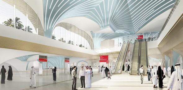 Van Berkel ontwerpt metrostations in Qatar