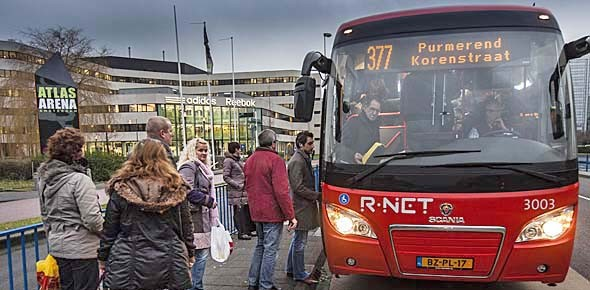 Noord-Holland: kwaliteit busvervoer toegenomen