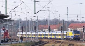 Duitse trein verliest steeds meer van bus