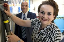 Alexandra van Huffelen vertrokken bij GVB