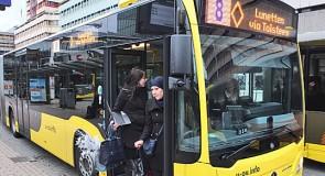 Hoge cijfers voor Qbuzz in regio Utrecht