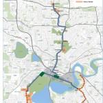 w-Perth beoogd tramnet