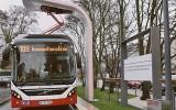Hamburg laadt bussen via een paal
