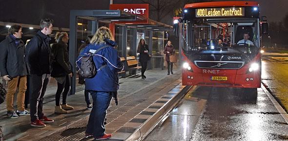 R-net rijdt nu ook in Zuidvleugel
