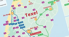 Ook op Texel geldt de OV-chipkaart