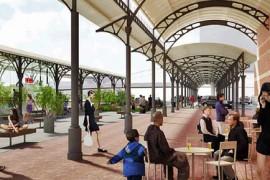 Hoofdstation Groningen krijgt perronplein