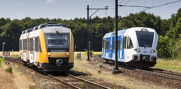 ProRail mag minder vragen voor lichte treinen