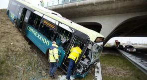 Bus van het talud, opschalen!