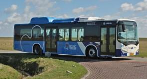 Arriva wint met e-bussen op de Wadden