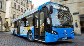 VDL levert 5 Citea's Electric af in Münster