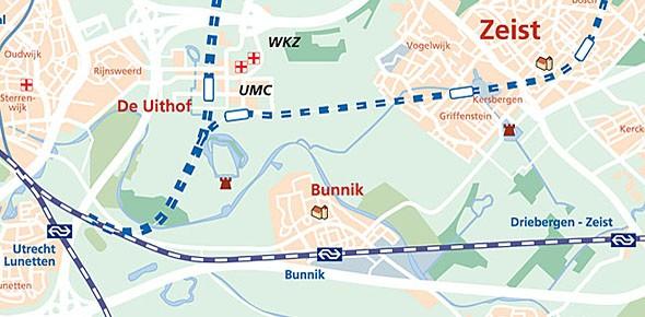 Utrecht onderzoekt station De Uithof