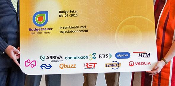 BudgetZeker voor bus, tram en metro