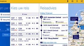 NS-reisplanner toont advies voor hele ov