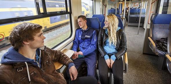 Vollere treinen door dagjesmensen
