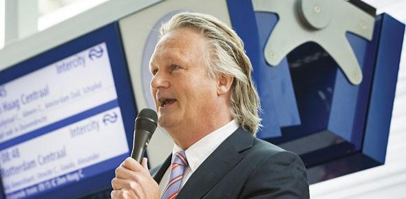 Doel Pier Eringa: 'Mensen houden van ProRail'