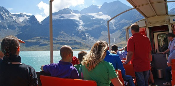 Ov als attractie scoort in Zwitserland