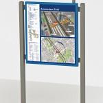 Infopaneel Amsterdam-Zuid
