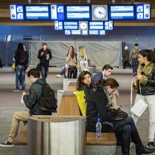 NS onderzoekt wachtbeleving reizigers