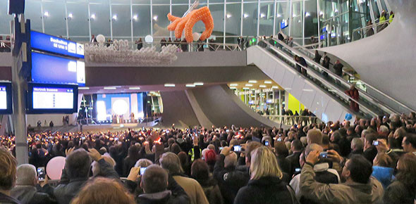 Arnhem voldoet nét aan eretitel Centraal