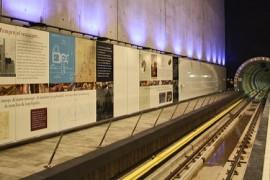 Geur en muziek in Rotterdamse metro