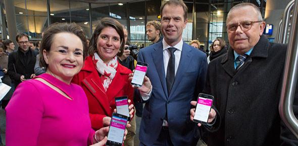 Proef betalen met smartphone van start