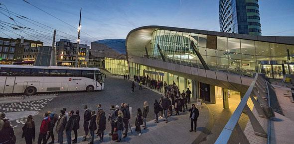 Arnhem trots op supercompact station