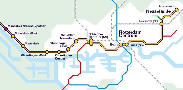 Onderzoek naar vier sporen bij Schiedam