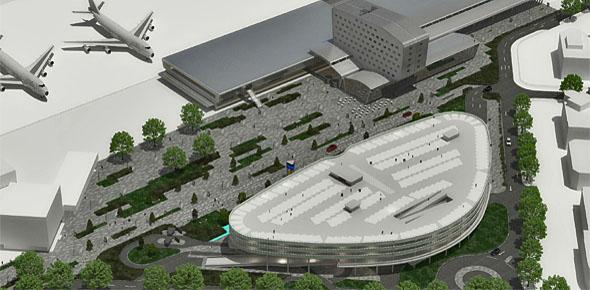 Luchthaven Eindhoven bouwt busstation