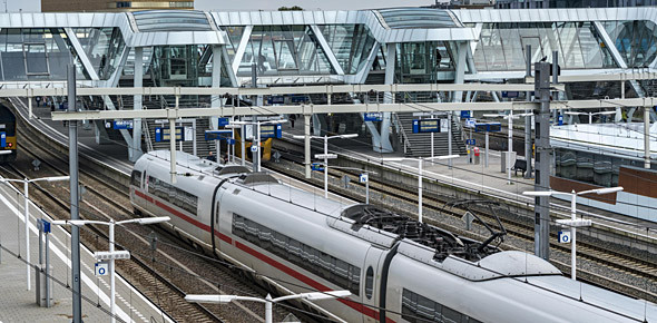 NS wil trager maar vaker naar Frankfurt