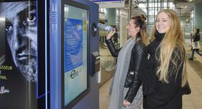 RET plaatst petflesautomaat met zeegeluid