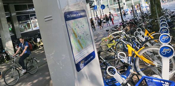 Utrecht wil vijf extra locaties OV-fiets