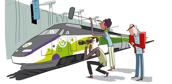 Budget-Thalys Izy nog niet naar Nederland