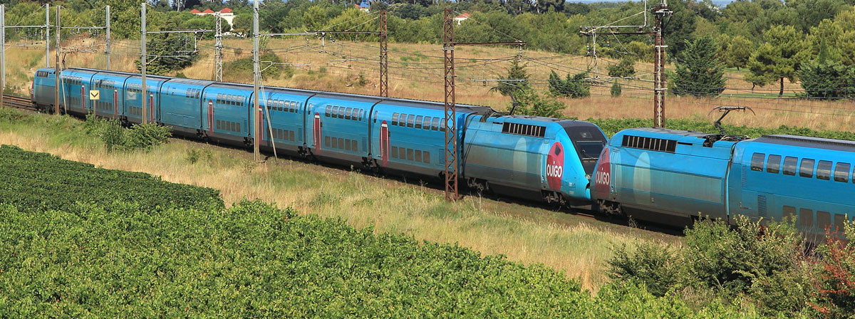 Ook de TGV heeft een goedkope uitvoering: de Ouigo. Foto: Cramos.