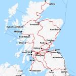 Railkaart-Schotland