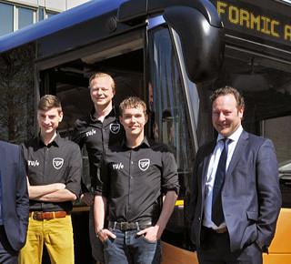 Eerste e-bus op mierenzuur in ontwikkeling