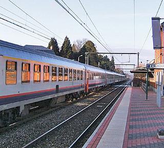 Belgische Benelux van het spoor gehaald