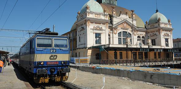 Stations in Tsjechië naar infrabeheerder